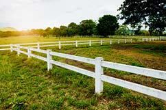 2-rail Ranch Rail Fence - Vinyl Fencing